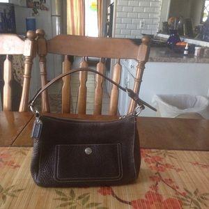 Coach Leather Shoulder Bag F10890